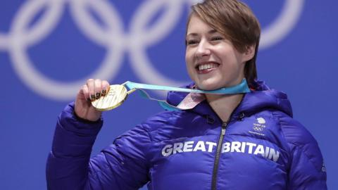 Lizzy Yarnold gold
