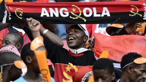 Angola football fans