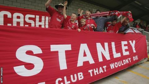 Accrington Stanley fans