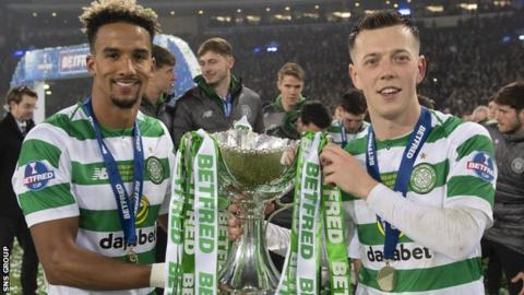 Celtic have won the League Cup for three seasons running