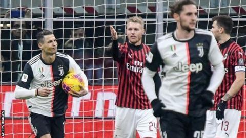AC Milan and Juventus