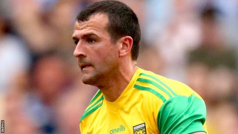 McGlynn won five Ulster championships and an All-Ireland title during a 14-year inter-county career