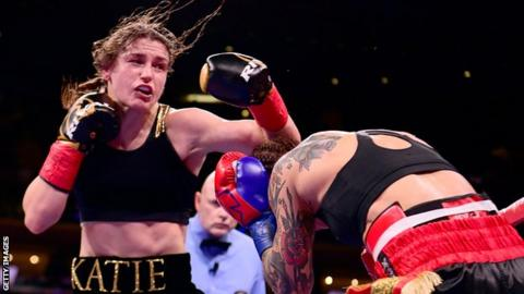 Katie Taylor is 12-0 in her professional boxing career