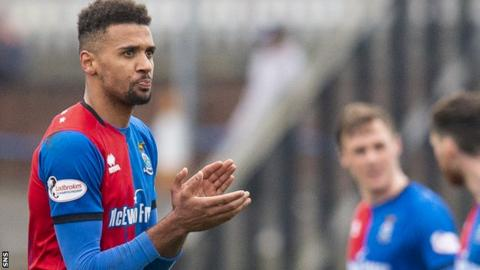 Inverness Caley Thistle's Nathan Austin