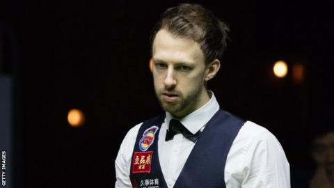 Judd Trump suffered a shock first-round exit at the Waterfront Hall