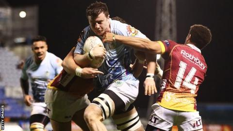 Murray Douglas in action for Northland in the Mitre 10 Cup