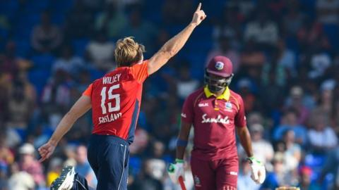 England in West Indies: Hosts bowled out for 71 as tourists claim eight-wicket win