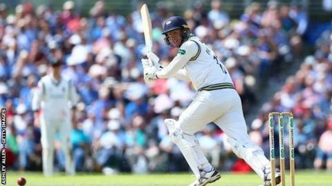 Yorkshire skipper Steve Patterson completed his first half-century in over three years, just three shy of his career-best 63, also against Warwickshire at Edgbaston