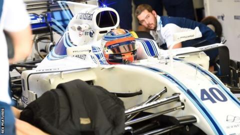 Former Formula 1 driver Robert Kubica