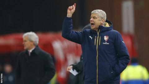 Arsene Wenger at Stoke