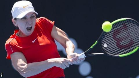 Ash Barty Stuns Simona Halep in Sydney International