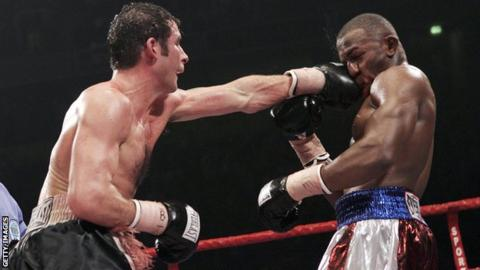 Joe Calzaghe and Jeff Lacy