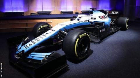 Williams 2019 car