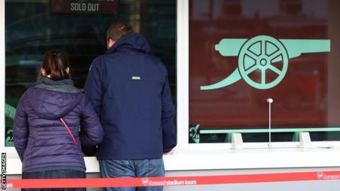 Free tickets given to fans will cost Arsenal a minimum of £20,000