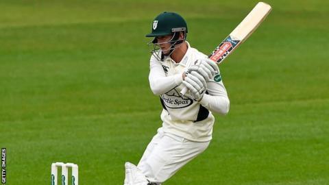 Worcestershire and England Lions batsman Joe Clarke