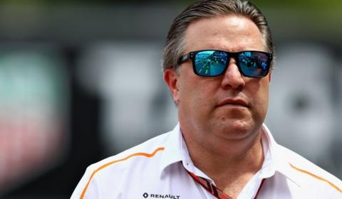 Zak Brown of McLaren