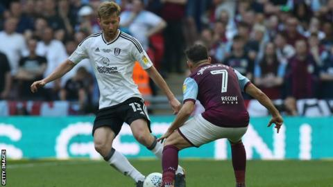 Tim Ream in action in the playoff final against Aston Villa