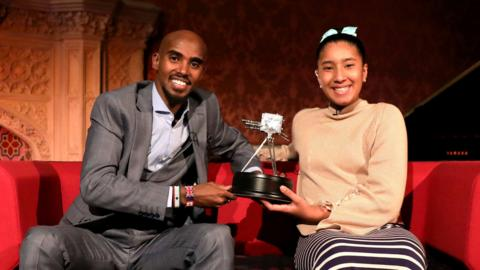 Mo Farah wins Sports Personality of the Year