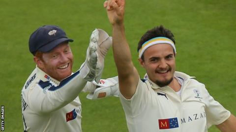 Jonny Bairstow and Jack Brooks