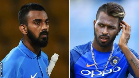 India: Hardik Pandya & KL Rahul fined for comments about women