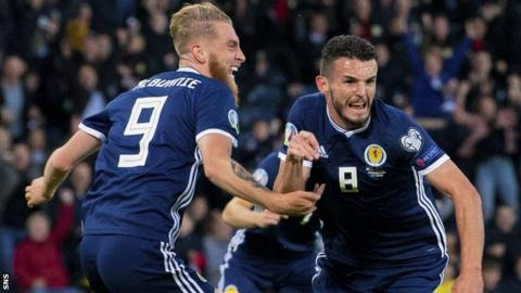 Scotland pair Oli McBurnie and John McGinn