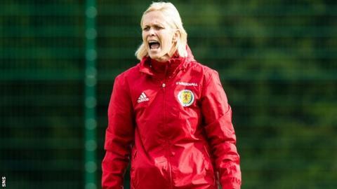 Scotland women's head coach Shelley Kerr