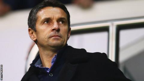 Remi Garde arrives at White Hart Lane