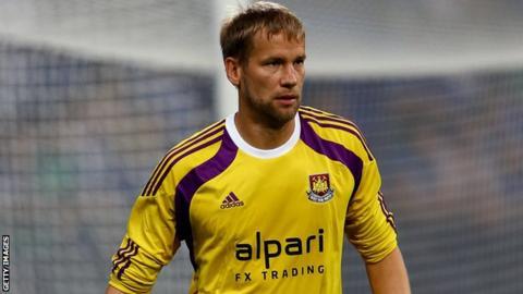 Jussi Jaaskelainen West Ham United