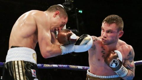 Scott Quigg (left) and Carl Frampton (right)