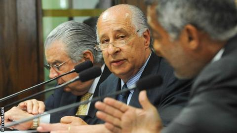 Brazil's football federation president Marco Polo del Nero