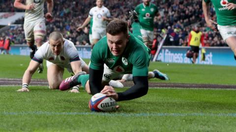 Stockdale scores for Ireland