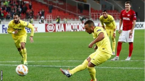 Spartak Moscow: Santi Cazorla scored first goal since serious Achilles injury