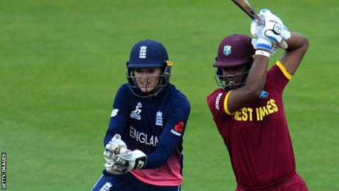 England wicketkeeper Sarah Taylor and West Indies opener Hayley Matthews