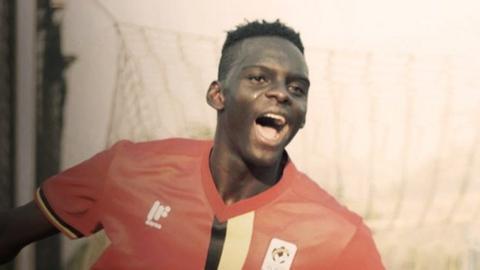 Uganda's Mustafa Kizza