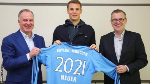Manuel Neuer on signing his new contract
