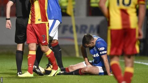 Lee Wallace injury