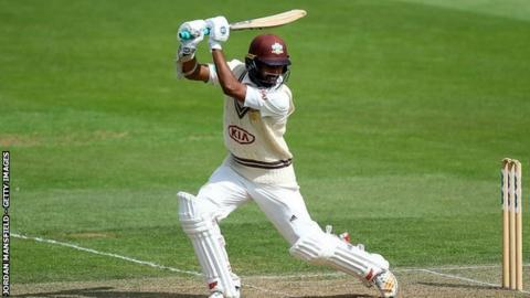 Arun Harinath averages 32.02 in his 66 first-class appearances for Surrey since 2009