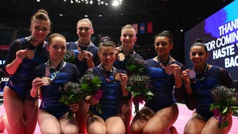 Great Britain win bronze at the World Championships in Glasgow