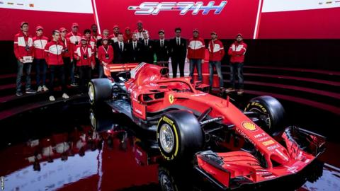 Ferrari's new car