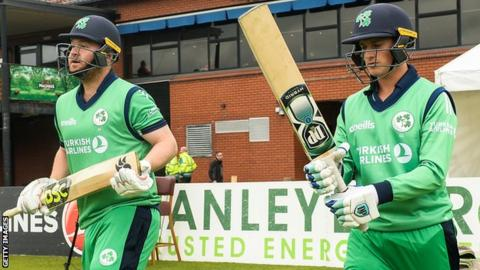 Ireland win ODI series against Zimbabwe with a match to spare