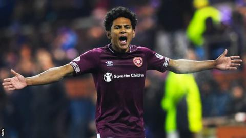 Hearts wing-back Demetri Mitchell