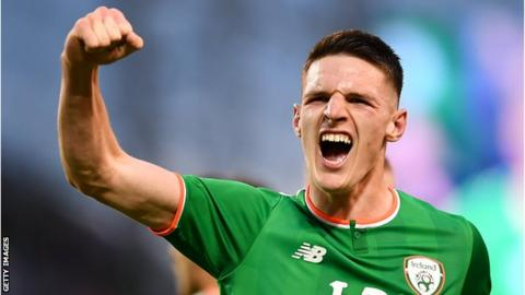 Declan Rice officially declares for England