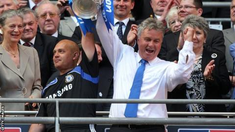 Former Chelsea manager Guus Hiddink