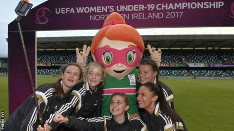 The Uefa Women's U19 Championship finals will be staged in Northern Ireland in August 2017