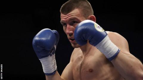 Welsh boxer Liam Williams