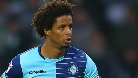 Sido Jombati in action for Wycombe