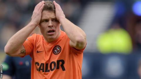 Dundee United midfielder John Rankin