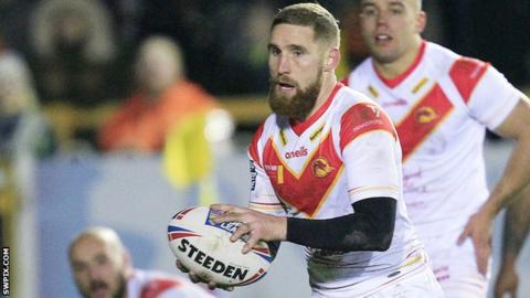 Catalans full-back Sam Tomkins kicked 100% of his goals against Castleford