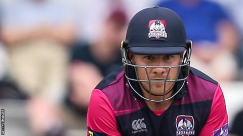 Adam Rossington helped Northants win the T20 Blast title in 2016