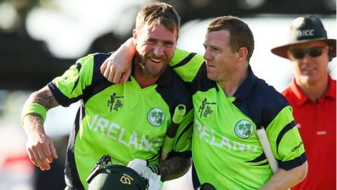 John Mooney and Niall O'Brien were important figures as Ireland beat West Indies and Zimbabwe in their pool games at the Cricket World Cup in February and March